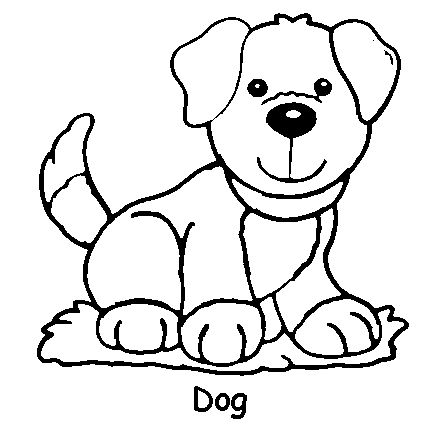 Coloring Pages Christmas on Dog Coloring Page Coloring Pages For ...