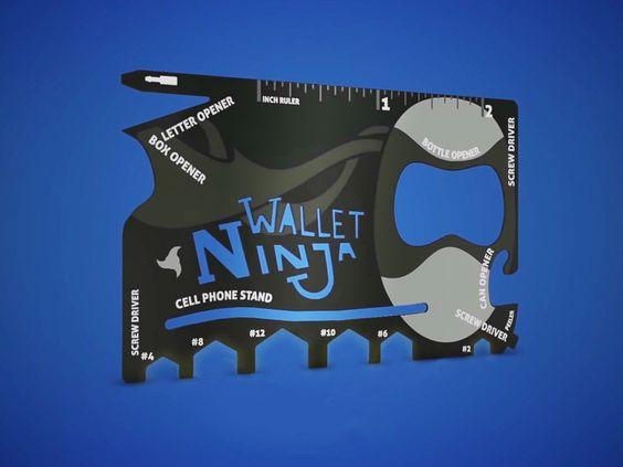 Wallet Ninja Multi-Værktøj