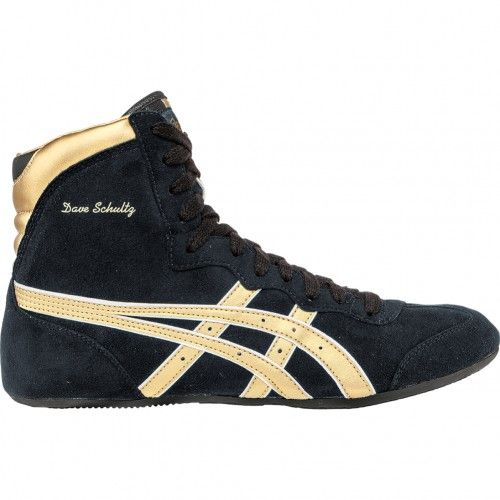 Asics Dave Schultz Classic Mens Wrestling Shoe JY604.9094 Black ...