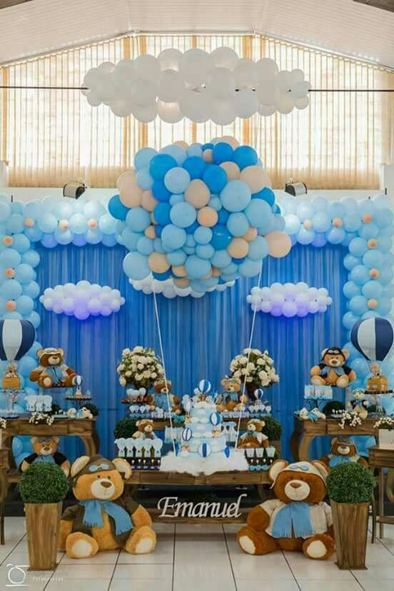 Globos en baby shower