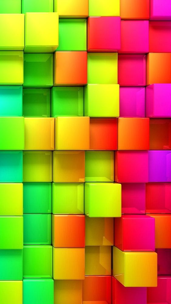 colored blocks wallpaper trololo - photo #8
