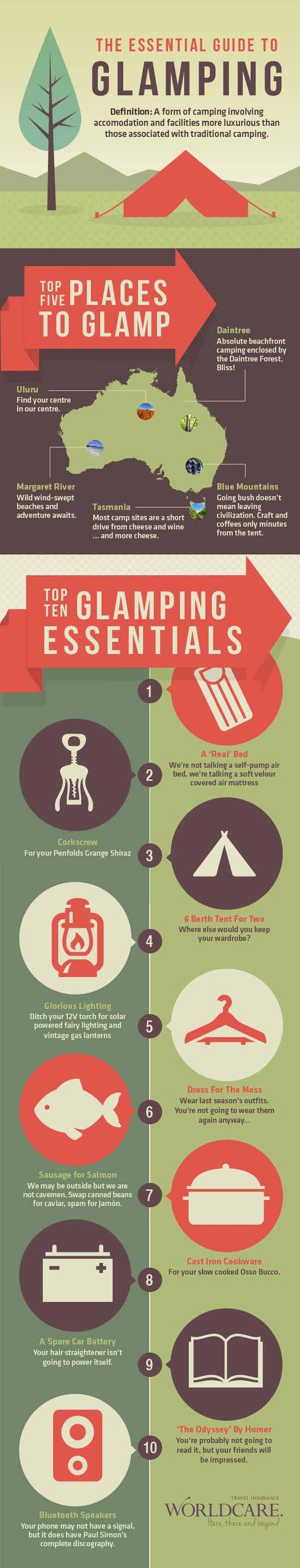 Guía basica para hacer glamping