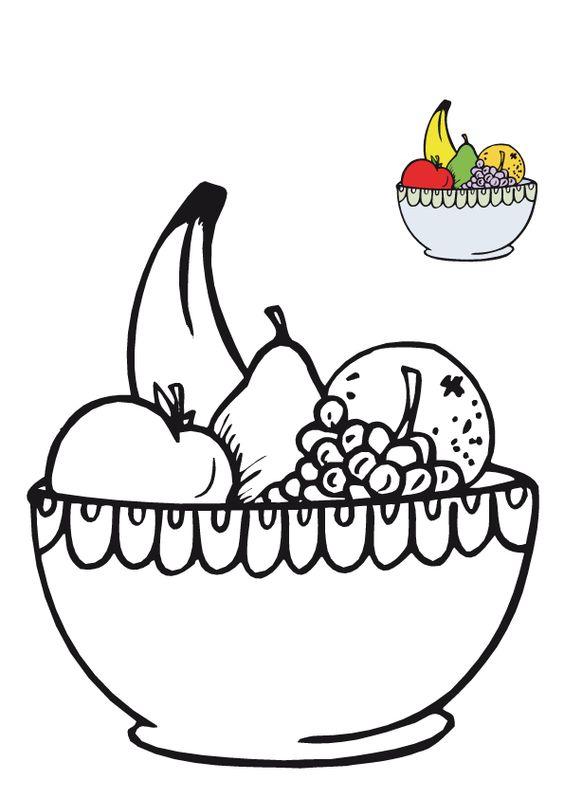 Frutero Para Colorear E Imprimir Buscar Con Google Frutas Para Colorear Paginas Para Colorear De Flores Pintar Frutas