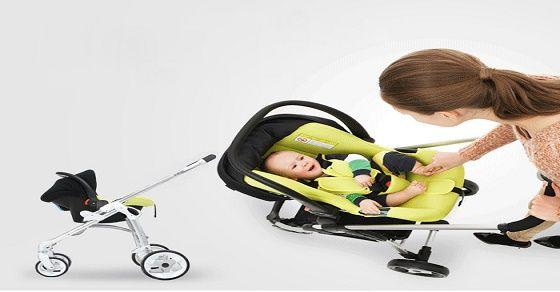 Những điều mẹ cần biết khi sử dụng xe đẩy trẻ em