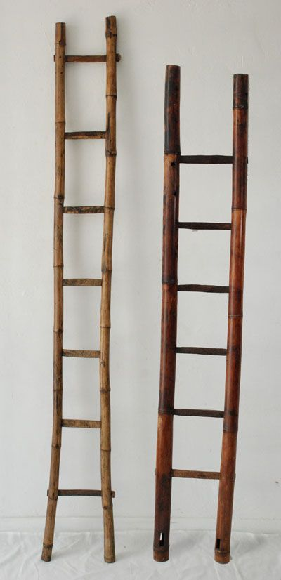 Philippines ladders - I need one in a Chennai apartment bathroom to hold towels -- want to keep holes in concrete wall to absolute minimum! Ladders will do ...