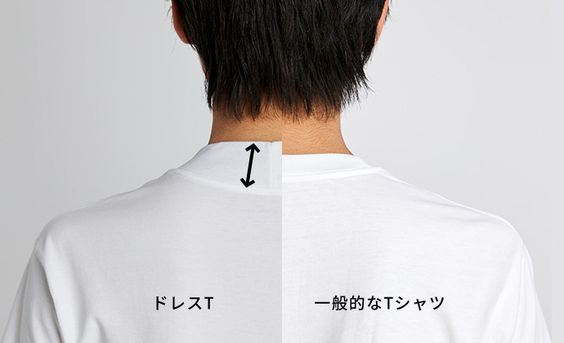 ボディワイルドのドレスTシャツ