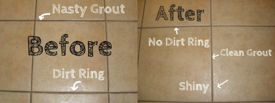 How To Make Tile And Grout Cleaner