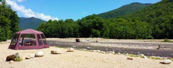 8 Spectacular Spots In New Hampshire Where You Can Camp Right On The River