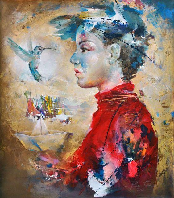 ♥ Dialogo con el colibri