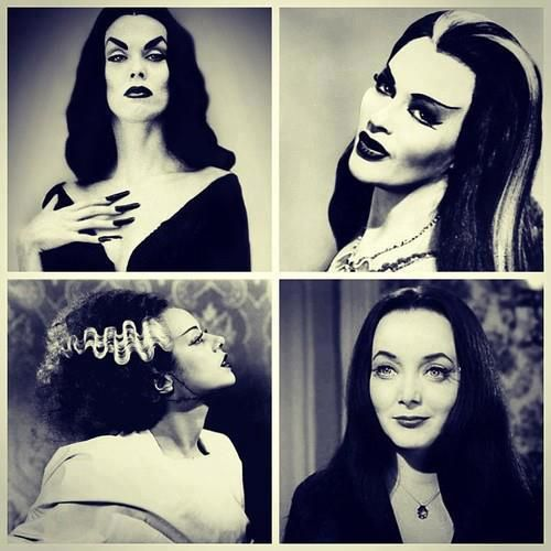 .The original goth babes.