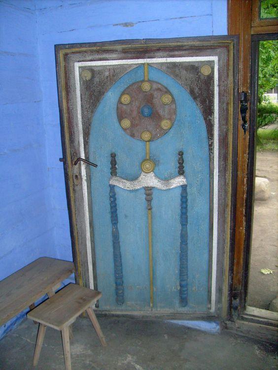 cottage door, Lowicz, Poland