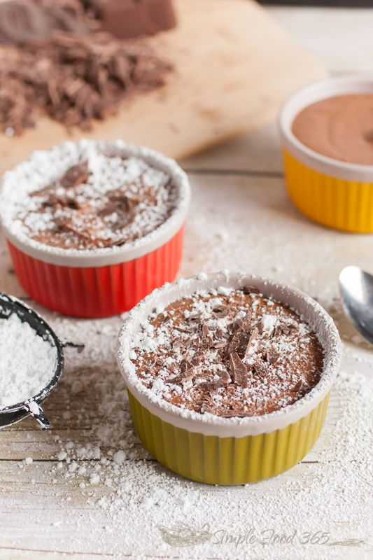 Are you looking for a dairy free dessert that is still big on flavor? Check out our Dairy Free Chocolate Mousse recipe for a light, delicious, and rich dessert your family and friends will love! | SimpleFood365.com: