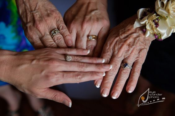 Wedding ring, engagement ring, creative, his and her ring, New Orleans and Baton Rouge Wedding photography, four generations, true beauty,