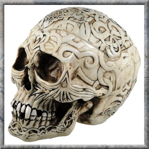 Goth Celtic Skull Box - Cases