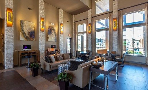 Can You Get An Apartment At 18 In Texas The Resident Clubhouse At Aliso Briar Forest In Houston Texas Contemporary Apartment Apartments For Rent