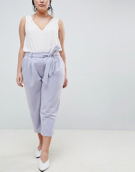 ASOS Curve | ASOS DESIGN Curve - Jupe-culotte mix & match à nouer à la taille