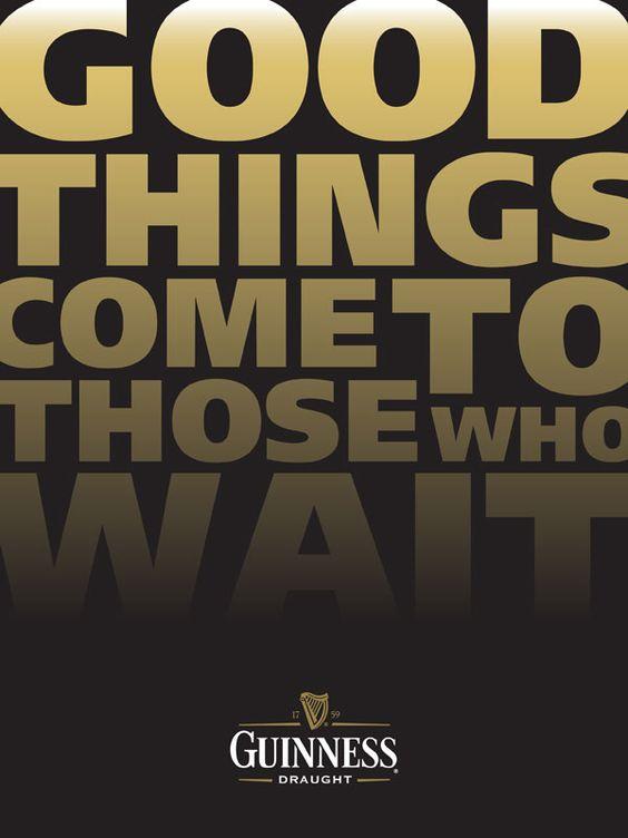Cartaz – Guinness    Mais em: http://fabiolobo.com.br/design