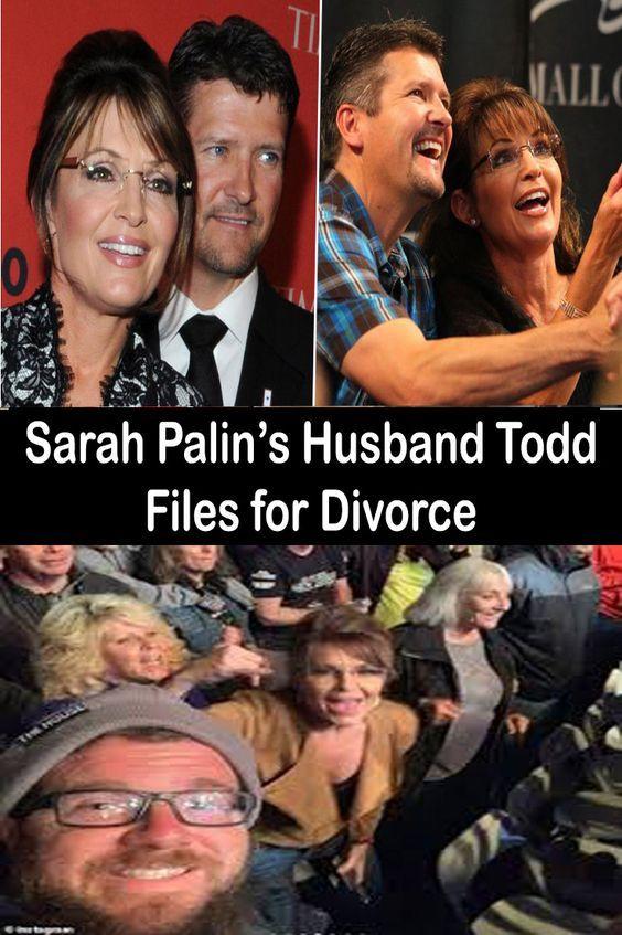 Sarah Palin S Husband Todd Files For Divorce