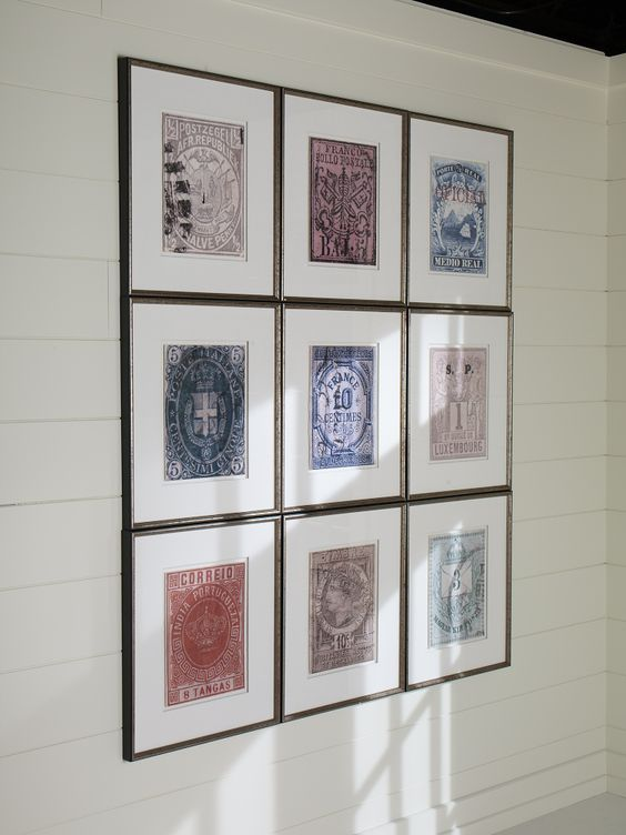 Copy And Blow Up Foreign Money For Cool Wall Art Could Do