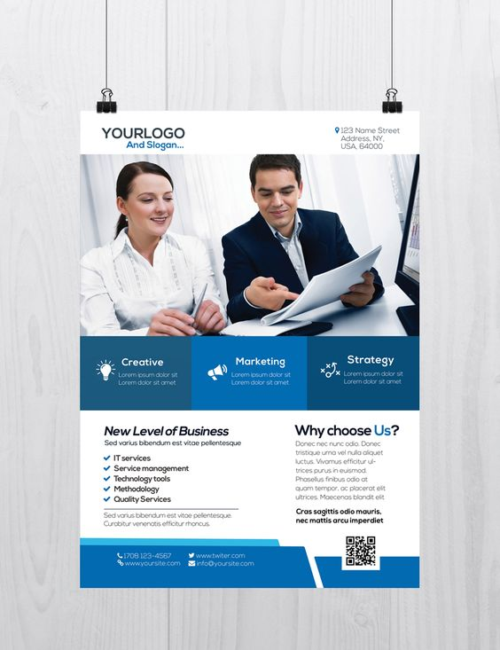 Corporate Business is Free PSD Flyer Template to Download This - free product flyer templates