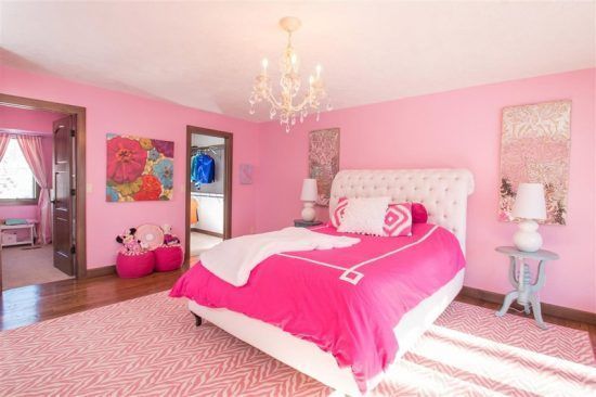 These Cute Bedroom Ideas For Girls Offer A Wide Range Of Designs To Create Endless Possibilities Be Woman Bedroom Pink Bedroom Design Traditional Kids Bedroom Get pink children's bedroom design