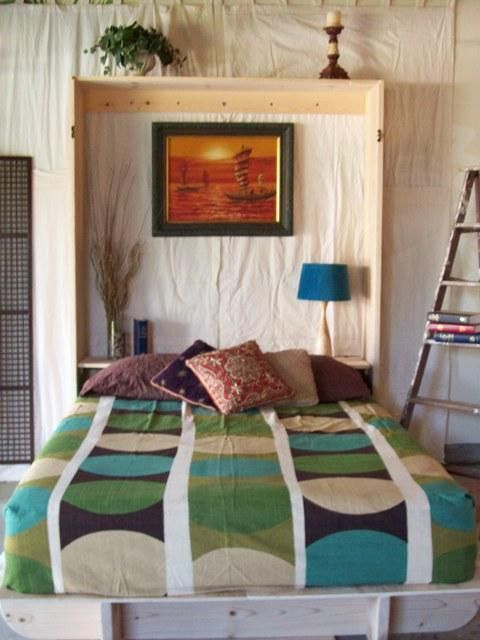 On the road to building my own Murphy bed with what is said to be a very simple design featured in Apartment Therapy, etc.: The Lori Wall Bed