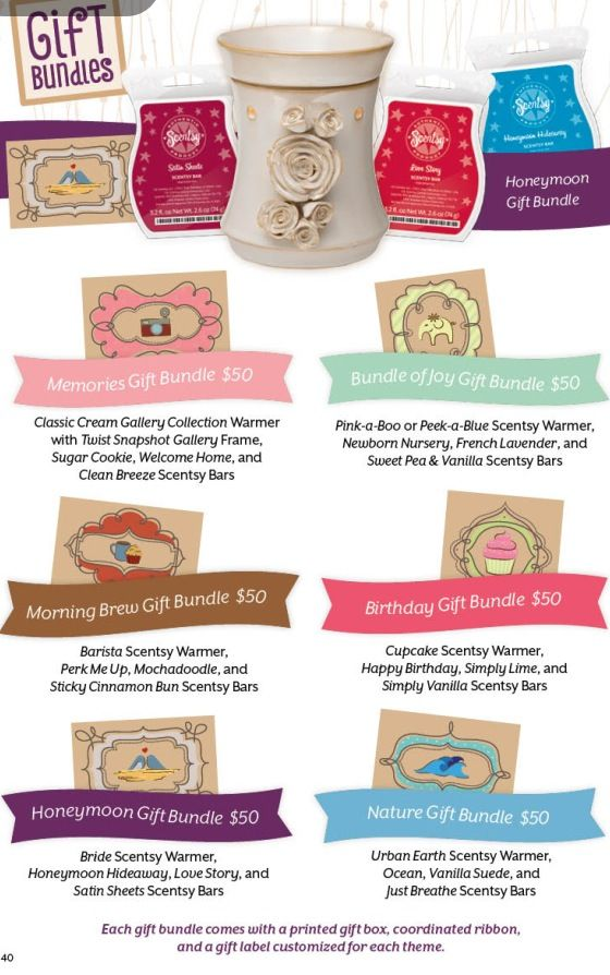 New warmer gift bundles! Available https://Pshipp.scentsy.us host a party and get them for free or half priced!