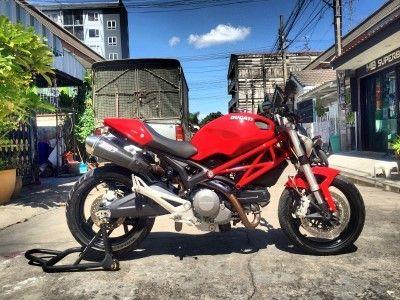 ( ขาย ) Ducati Monster 795 รุ่นปี 2012 ไมล์ 8,xxx พร้อมท่อ Zard ของแท้ 269,000 -