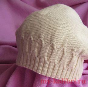 Как связать двойную шапку спицами: подробное описание на сайте Колибри. Очень теплая. Как раз для морозов, которые закончатся еще не скоро.