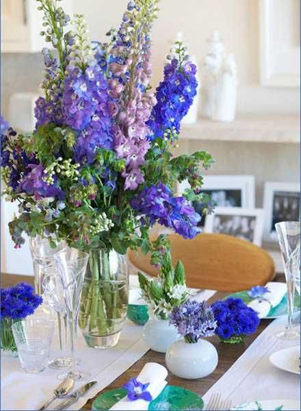 Elegant flower arrangements and spring decorating ideas for Floral centerpieces for dining tables