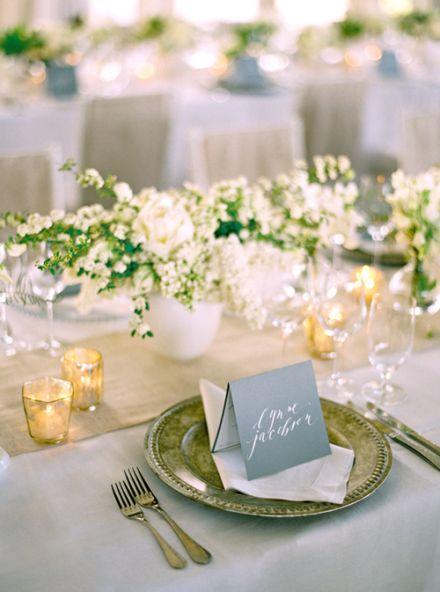 elegant wedding ideas centerpiece