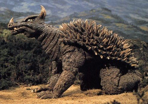 Anguirus   Anguirus in Destroy All Monsters.  After Godzilla, he's my favorite.