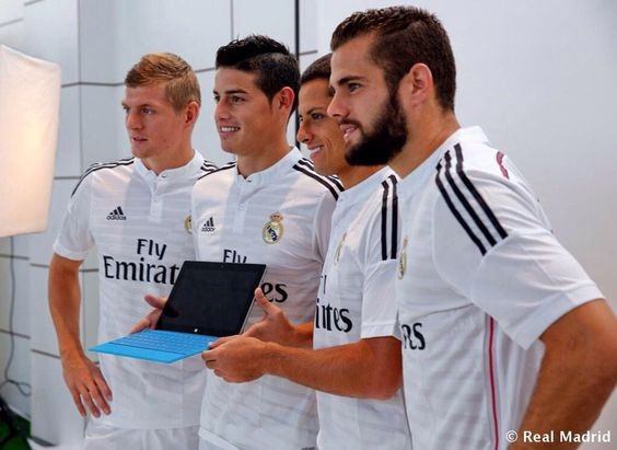 Picture day | Kroos, James, Javier, Nacho