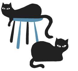 black cats by Polkka Jam