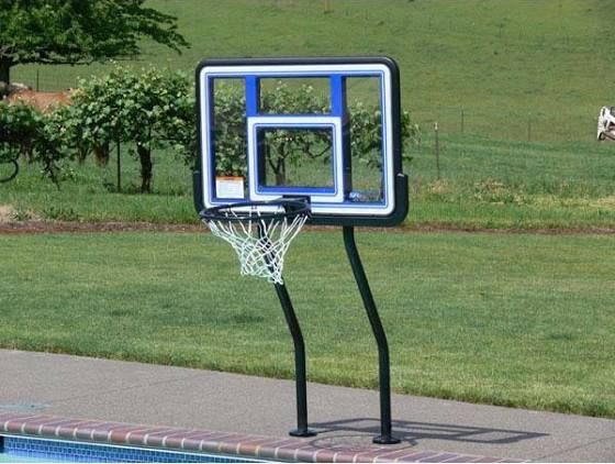 In Ground Pool Basketball Hoops Google Search Pool Pinterest Pools In Ground Pools And