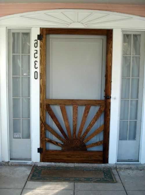 Attractive Ideas Custom Wooden Screen Doors Custom Wood Screen