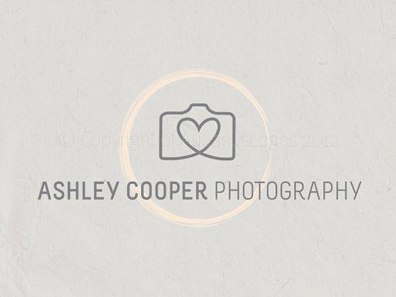 Premade Photography logo design photography logo Watermark camera logo. Instant download digital download psd file