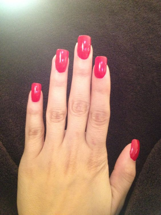 """My nails - ready for vacation! """" Tiny Wine-Ey"""" by Essie"""