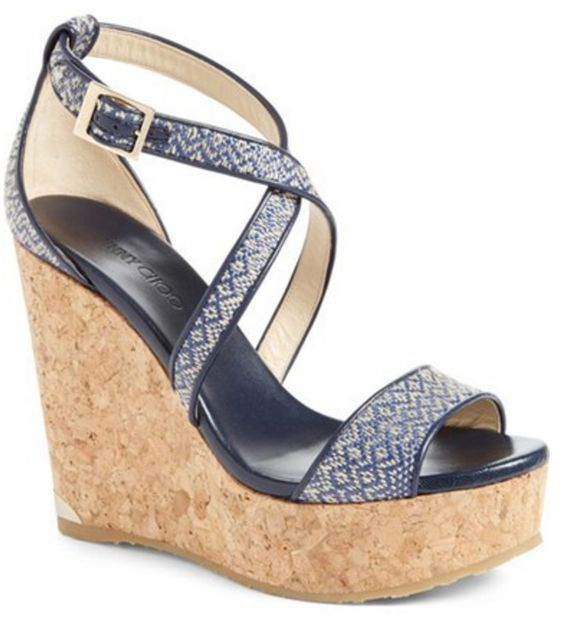 Beautiful wedge sandal