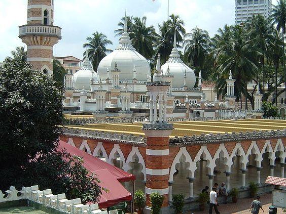 Masjid Jamek Kuala Lumpur Beautiful Mosques Mosque Kuala Lumpur