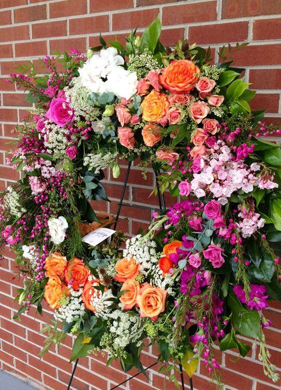 Flirty fleurs floral inspiration sympathy work feature