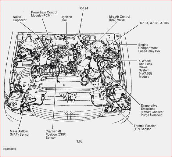 8 Northstar V8 Engine Diagram Ford Ranger Mazda Diagram