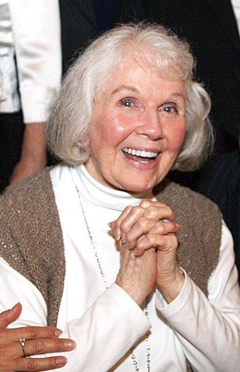 Doris Day, celebrating her 90th birthday in April, 2014. So lovely.