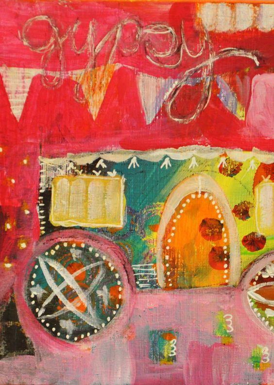 Gypsy Wagon by Keli McKinley Hansen