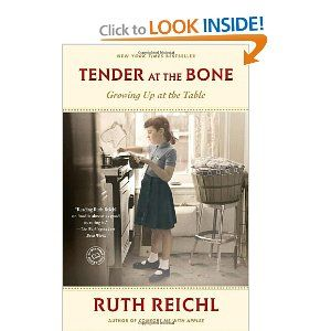 Tender At The Bone- Ruth Reichl is my current read.  Going to see the author speak in October.