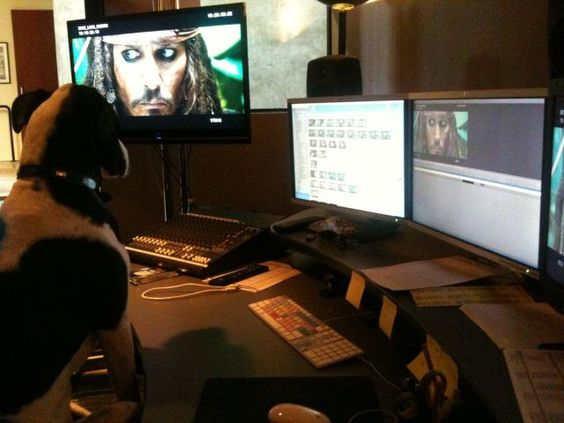 Office dog, Hannah, replaced the entire editing crew of Pirates of the Caribbean: On Stranger Tides