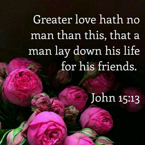 John 15:13 KJV
