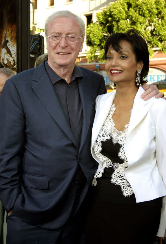 Michael Caine And Shakira Baksh Celebrities Shakira Married Couple