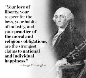 30 Informative George Washington Quotes .