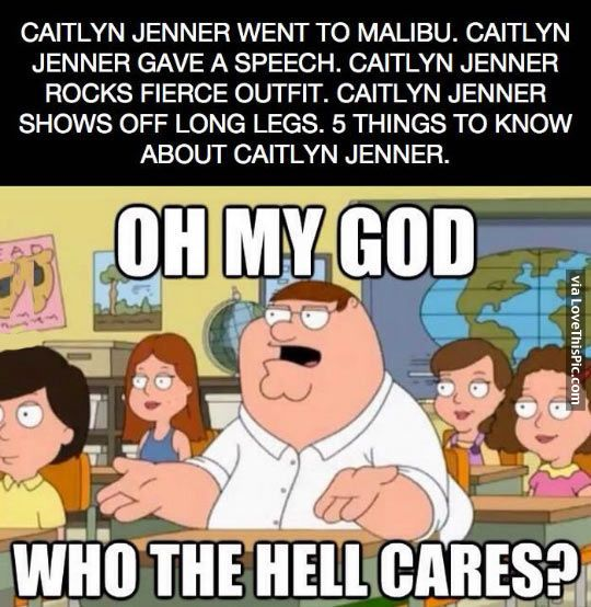 who cares about caitlyn jenner funny memes cartoons meme